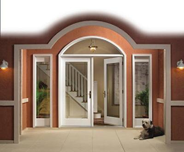 9200 and 9300 PVC Vinyl Hinged Swing Doors